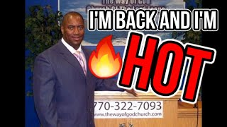 I'm Back and I'm Hot: Pastor Tony Smith Remix - Funny Church Videos