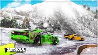 WINTER MOUNTAIN DRIFTING! (GTA 5)
