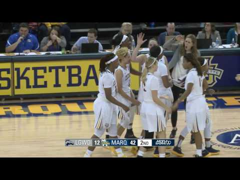 Marquette throttles Longwood to open 2016 17 Season - YouTube