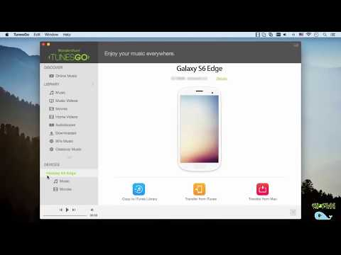 How to Transfer Music from iTunes Library to Samsung Galaxy S6 Edge ?