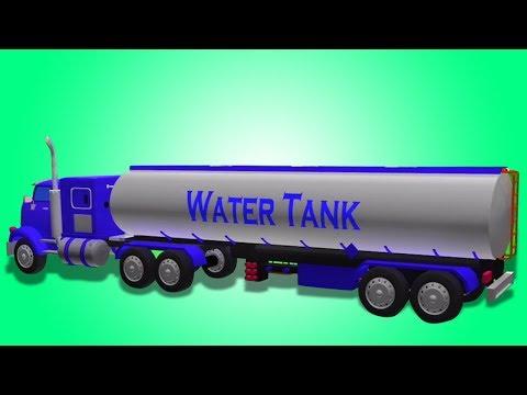Air Tank | Pembentukan & Menggunakan | video kanak-kanak | Water Tank