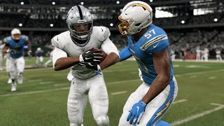NFL Thursday Night Football 11/7/2019 - Oakland Raiders vs Los Angeles Chargers Week 10 – Madden 20