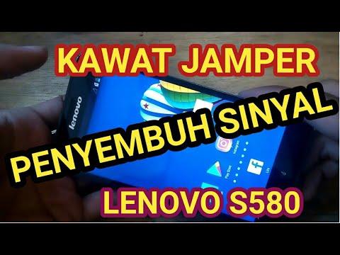 Lenovo S580 Sinyal Hilang
