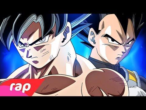 Rap Do Goku E Vegeta (Dragon Ball Super) - O HOMEM MAIS FORTE DO UNIVERSO | NERD HITS