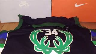 Баскетбольная джерси NBA Milwaukee Bucks № 34 Giannis Antetokounmpo магазин Basket Family