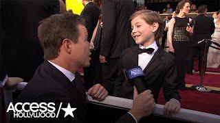 Jacob Tremblay On Oscars, Selfies & Celeb Crushes | Access Hollywood