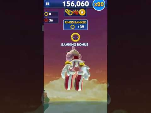 Sonic Dash Amy Rose Gameplay 2