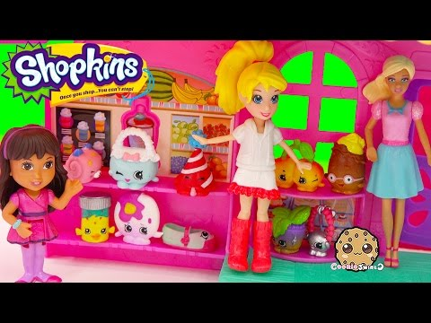 Unboxing Shopkins Season 4  12 Pack With 2 Surprise Blind Bags At Rainbow Cafe - Video