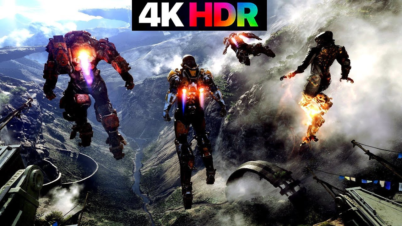 Anthem Gameplay 4k Hdr Max Graphics Pc Youtube