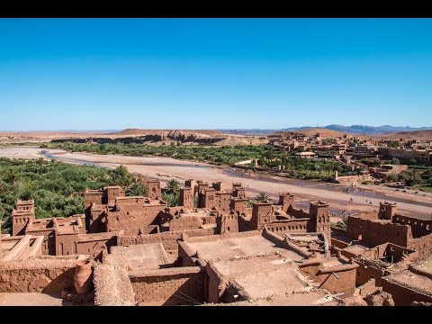Morocco High Atlas Mountains and Ait Ben Haddou