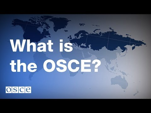 What is the OSCE?