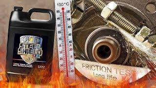 Steel Shield EPA Dodatki do olejów Analiza Test Tarcia 100°C