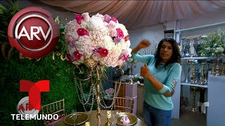 Así serían las flores para la boda de Chiquis Rivera | Al Rojo Vivo | Telemundo
