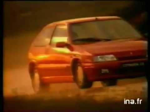 Publicité Citroën ZX Coupé - Rallye raid au Paris-Pekin 92