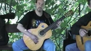 Уроки игры на гитаре, Харьков.  Mikis Theodorakis - συρτάκι, sirtaki, сиртаки