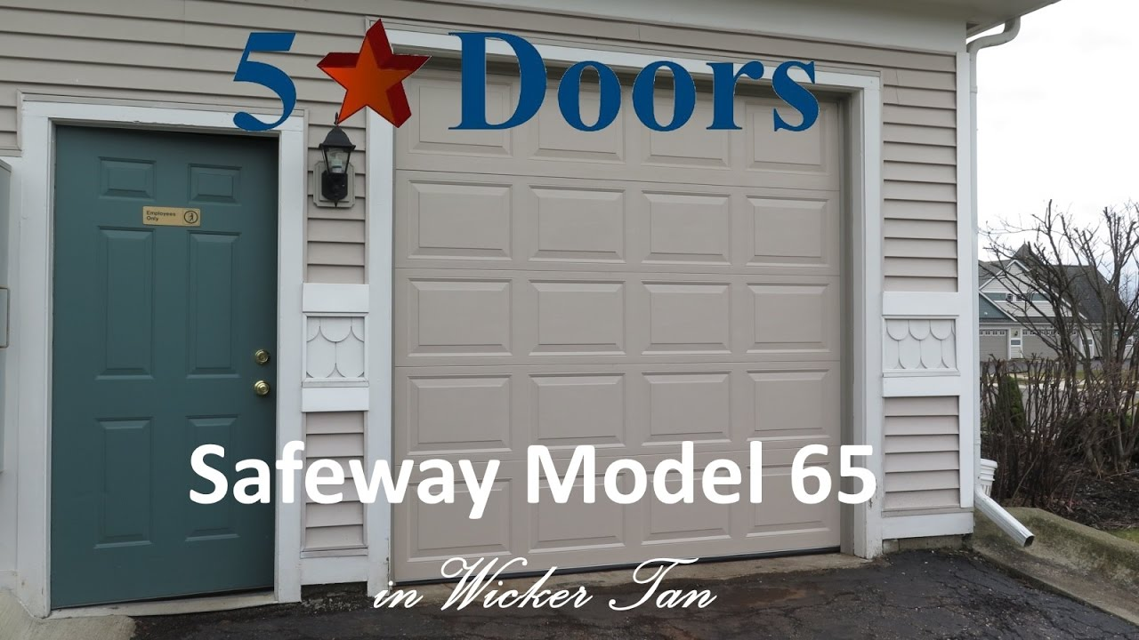 Safeway Model 65- 8ft Tall Door & Safeway Model 65- 8ft Tall Door - YouTube