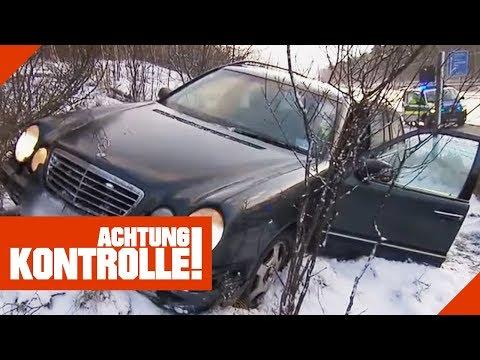 Schwerer Mercedes-Unfall auf der Autobahn! Wie ist der Unfall entstanden?  | Achtung Kontrolle