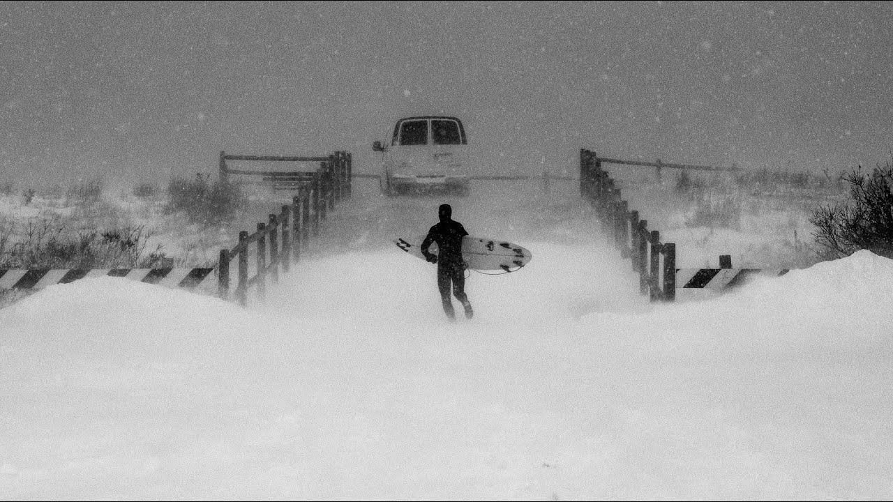 Numb Skulls: Sub-Zero Blizzard Surf New Jersey
