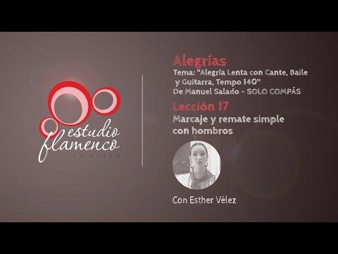 Curso Flamenco Online - 2.5 ALEGRÍAS - Solo Compás #17