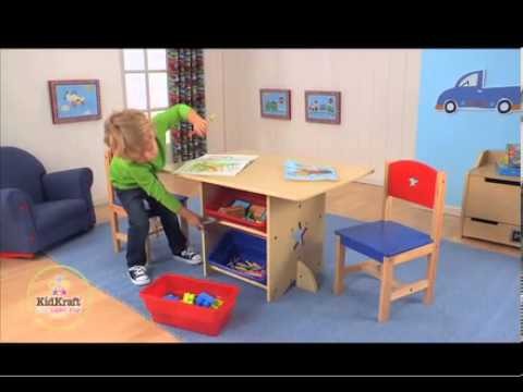 Kidkraft Star Table And Chair Set - YouTube