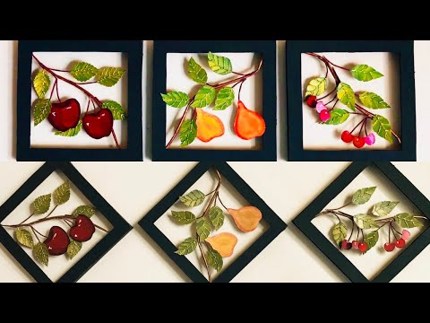 diy-unique-home-decor-|-kitchen-wall-decoration-|-fruits-wall-|-#024-|