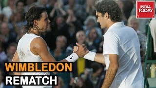 Men's Singles Semis : Long Awaited Wimbledon Rematch, 1st Meeting At SW19 Since 2008