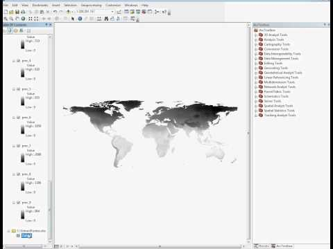 Extracting WorldClim Data