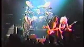 'Fight or Fall' - 'Thundersteel' Tour 1989 - Tokyo, Japan