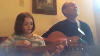 Scott and Nine Year Old Girl Sing and Play Yellow Submarine