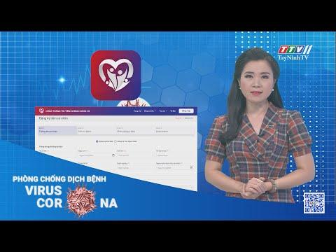 Cách đăng ký tiêm vắc xin COVID-19 qua ứng dụng di động | Thông tin dịch Covid-19 | TâyNinhTV