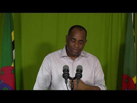Oct. 16 - Press Statement by Prime Minister Roosevelt Skerrit