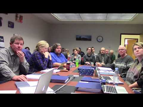 Mineral Point School Board 12.11.17