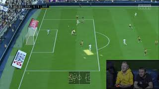 TOMEK PIERWSZT RAZ GRA W FIFA20 - Na żywo