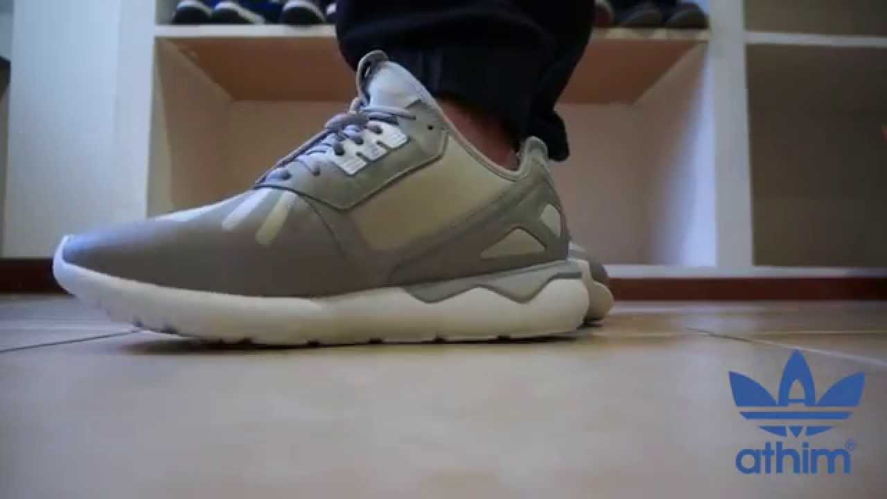 Adidas Tubular Runner On Feet