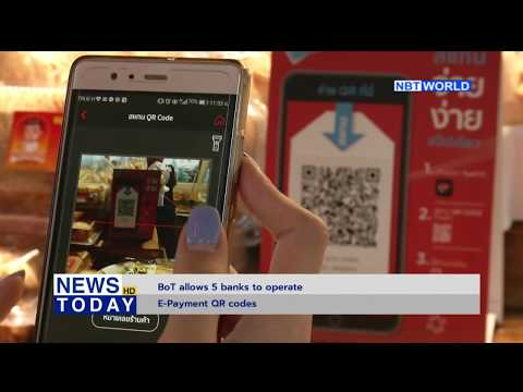 BoT allows 5 banks to operate E-Payment QR codes