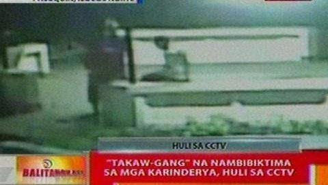 BT: 'Takaw-gang' na nambibiktima sa mga karinderya sa Ilocos Norte, huli sa CCTV