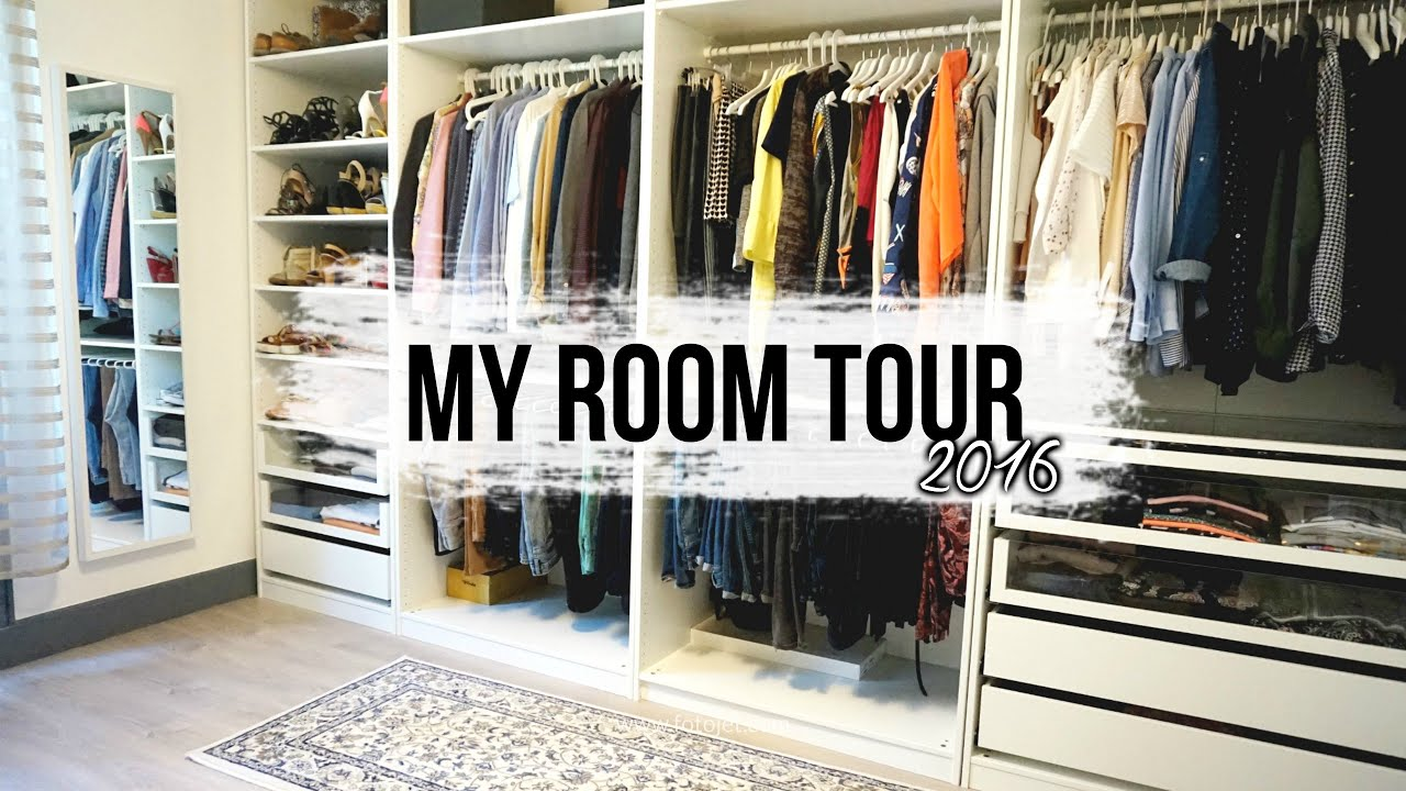 Ikea Bloc Tiroir Dressing // beauty room tour 2016 // rangement makeup - dressing