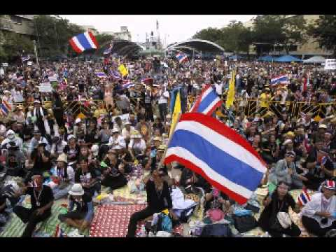 Tens Of Thousands Thai People Protest Against Government