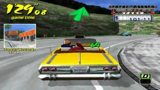Crazy Taxi PC Gameplay Windows 7 HD - 3 Minute Mode