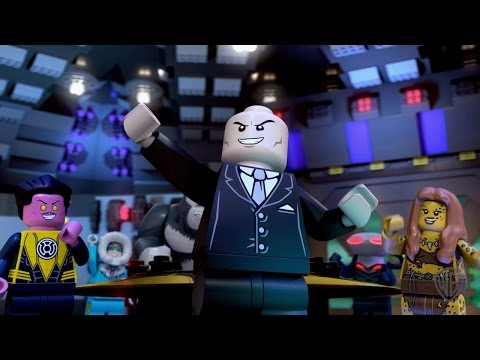 """LEGO DC Comics Super Heroes: Justice League: Attack of the Legion of Doom - """"The Wrong Hands"""""""