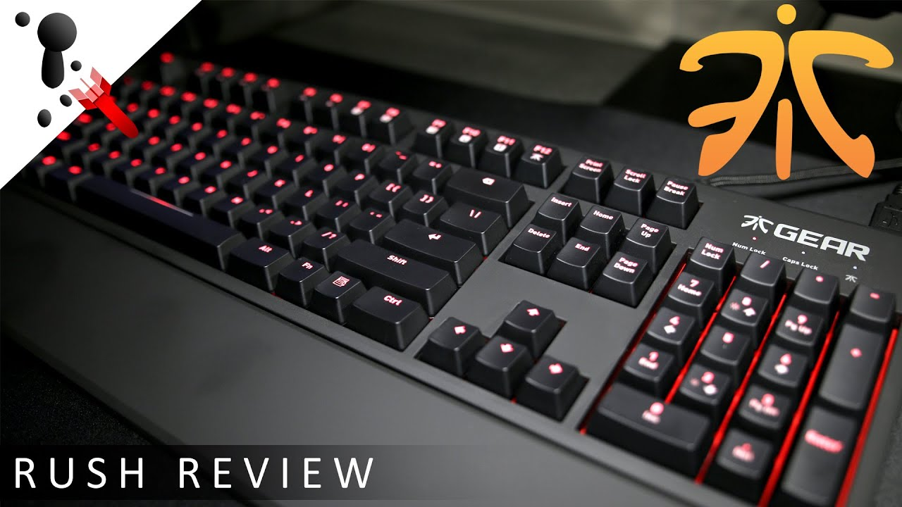 fnatic rush g1 keyboard review cherry mx blue sound test youtube. Black Bedroom Furniture Sets. Home Design Ideas