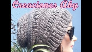 Fashion Beret a Crochet