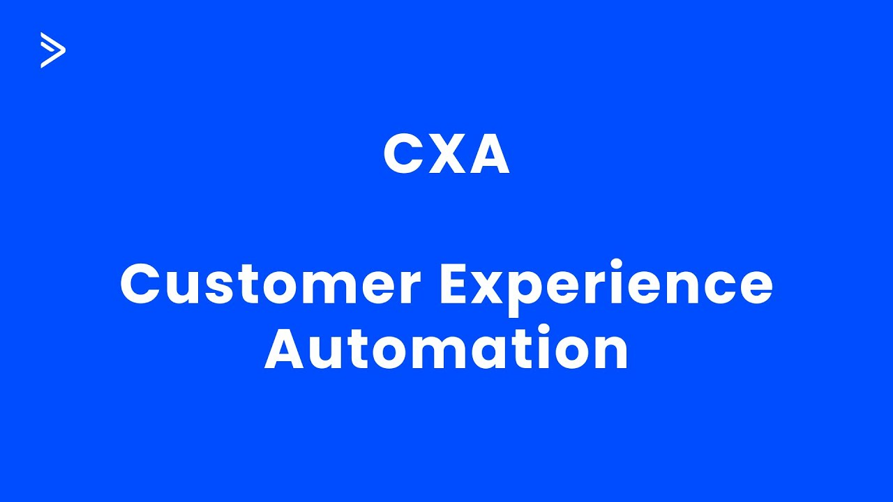 Customer Experience Automation Demo - YouTube