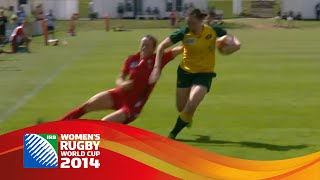 TOP FIVE TRIES from the second round at Women