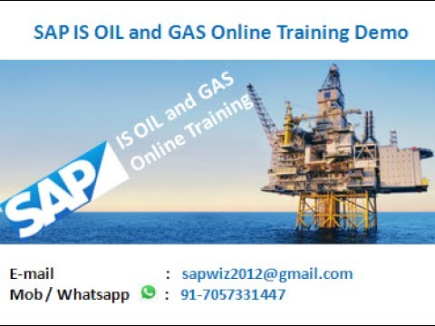 SAP OIL AND GAS TRAINING VIDEO TUTORIAL DOWNSTREAM DEMO BY SAI IS OIL TRAINER