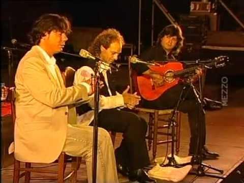 Miguel Poveda, Duquende y Chicuelo - Festival Les Suds à Arles 2004