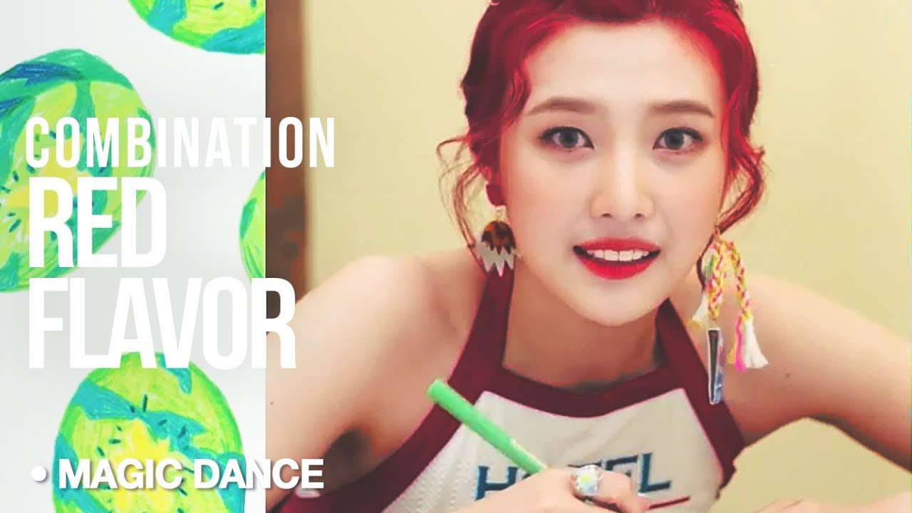 KPOP MAGIC DANCE | Red Flavor matches with everything