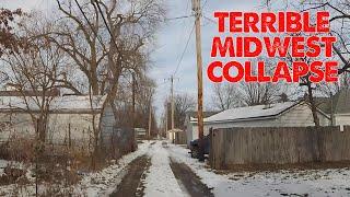 I drove through a sad, depressing small Illinois city. This is it.