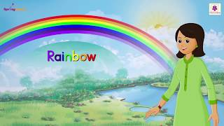 Rainbow Rhyme For Kids | Animated Learning Songs For Children | Periwinkle