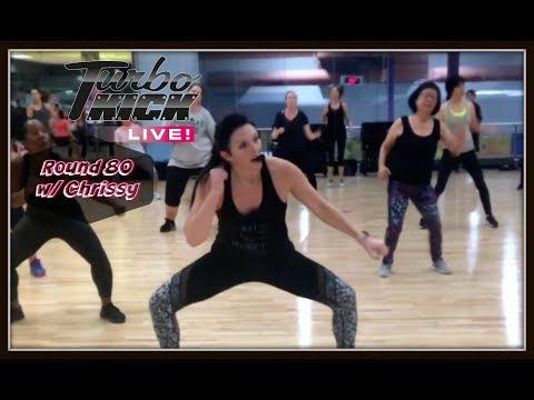 Turbo Kick Live Class with Chrissy -- ROUND 80 Preview